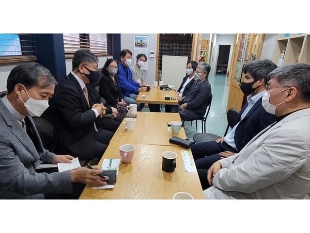 [21.08.31] 아프칸 특별기여자들을 섬기기 위한 대책 회의